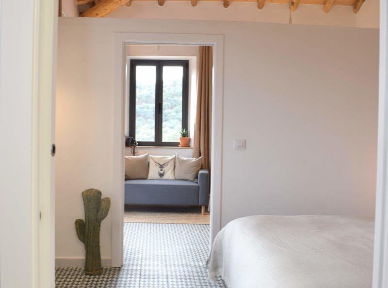 Overview Casa de Campo living room and bedroom