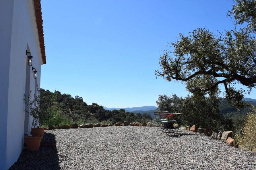 terrace and views from Casa de Campo