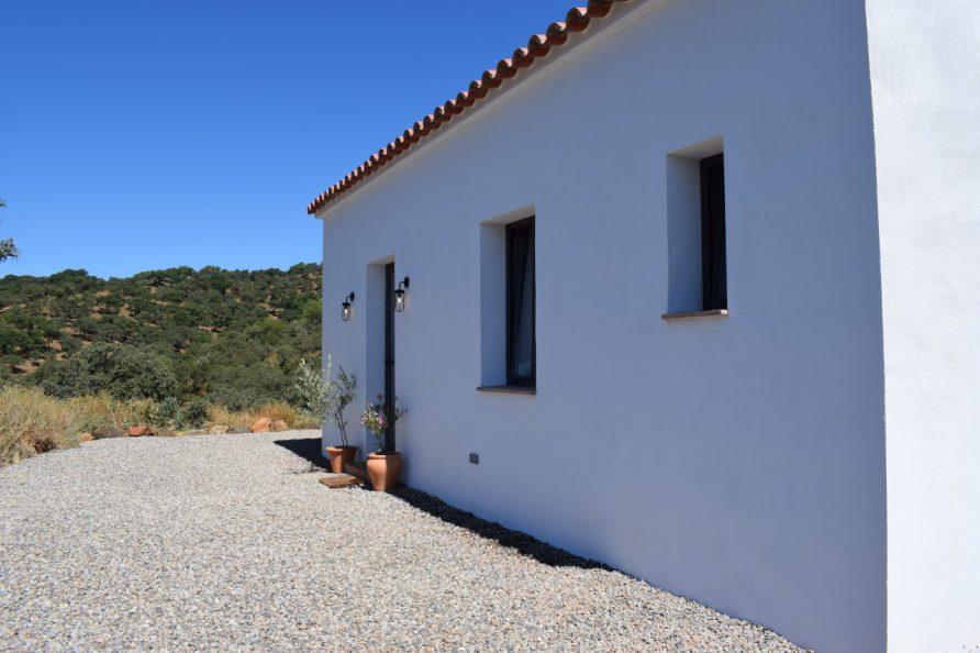 Facade view from Casa de Campo II