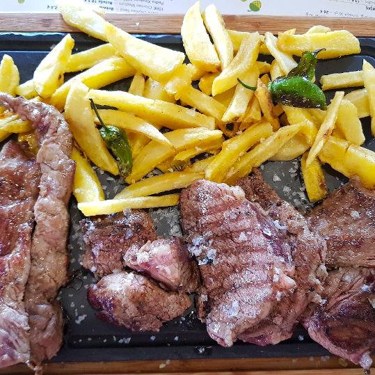 Las Bellotas Restaurant signature dish